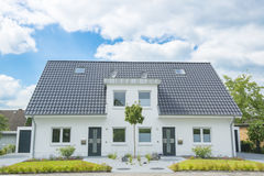 New duplex House. In Germany Royalty Free Stock Images