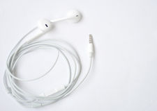 New earphone Royalty Free Stock Photography