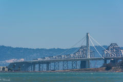 The new east span of the Bay Bridge, San Francisco Stock Image