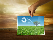 New eco power energy Stock Image