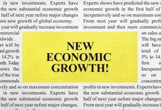 New economic growth ad Stock Photography