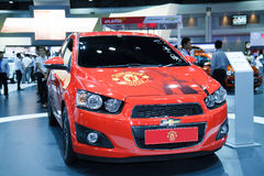 New Edition of Manchester United car of Chevrolet Royalty Free Stock Photography