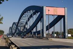 New Elbe Bridge in Hamburg Royalty Free Stock Photos