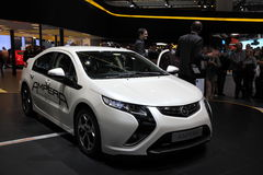 New electric car Opel Ampera Royalty Free Stock Photo