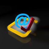 New email sembol Stock Images