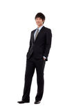 New employee business young man Stock Photo