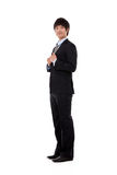 New employee business young man Royalty Free Stock Photography