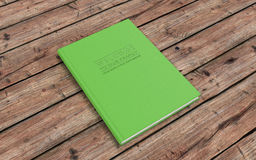 New Employee Handbook. HR handbook. 3d illustration Royalty Free Stock Image