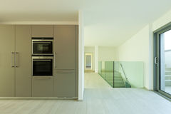 New empty apartment Royalty Free Stock Image