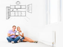 New empty apartment Royalty Free Stock Photography