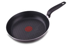 New empty frying pan Royalty Free Stock Photos