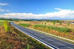 New empty road freeway Stock Photos