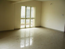 A New Empty Room. A room of a new apartment Royalty Free Stock Photography