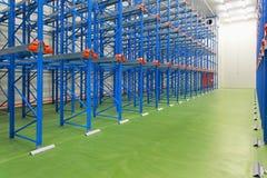New empty warehouse Stock Photography