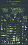 New Energu And Electrical Transpostation infographics template poster Stock Photos