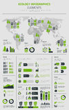 New Energy I Elektryczny Transpostation infographics szablonu plakat ilustracja wektor