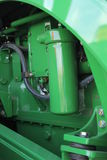 The new engine tractor Agricultural machinery Stock Images