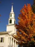 New England. Peak fall foliage in New England Royalty Free Stock Photos