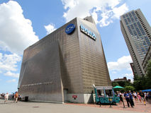 New England Aquarium IMAX Theater Boston Stock Image
