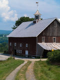 New England Barn Stock Image