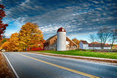 New England barn Stock Images
