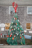 New England Christmas Tree Stock Images
