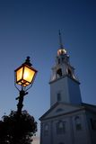 New England Church Stock Image
