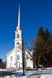 New England Church Royalty Free Stock Photo