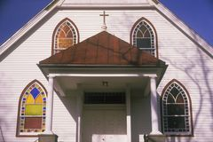 A New England church Royalty Free Stock Photography