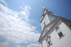 New England Church Stock Photography