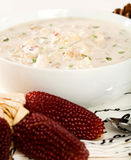 New England Clam Chowder Royalty Free Stock Photography