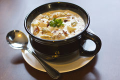 New England Clam Chowder Royalty Free Stock Image