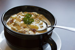 New England Clam Chowder Stock Images