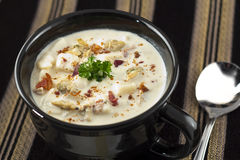 New England Clam Chowder Royalty Free Stock Photo