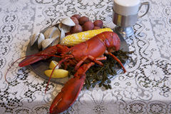 New England Clambake Royalty Free Stock Photography