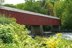 New England covered bridge Royalty Free Stock Photo