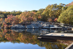New England in de herfst Royalty-vrije Stock Afbeelding