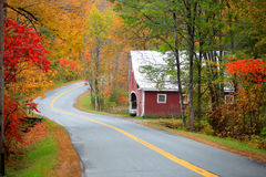 New England drive Royalty Free Stock Photography