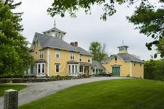 New England farm house Stock Photography