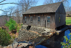 New England Grist Mill Stock Photos