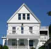 New England hus Arkivbild