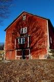 New England ladugård Arkivfoton
