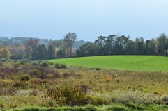 New England landskap Royaltyfri Bild