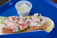 New England Lobster Roll Royalty Free Stock Photography