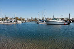 New England Marina Royalty Free Stock Image