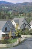 New England neighborhood Stock Photos