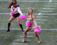 New England Patriots-Cheerleadern Lizenzfreies Stockbild