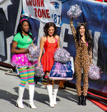 New England Patriots Cheerleaders Obrazy Royalty Free