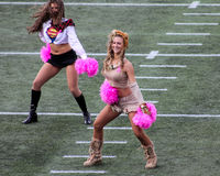 New England Patriots Cheerleaders Royalty Free Stock Image