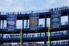 New England Patriots fans Royalty Free Stock Photo